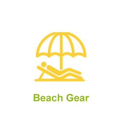 Beach Gear for Rent