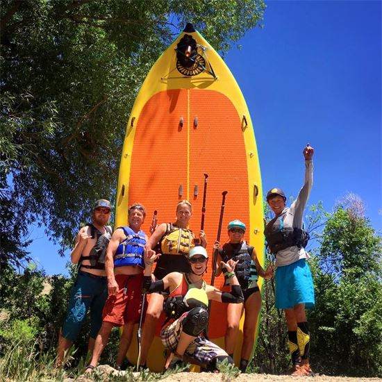 Giant Group Stand Up Paddleboard