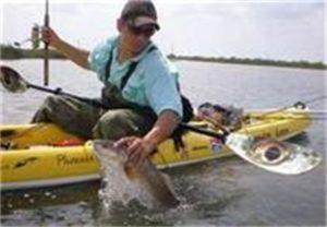 Fishing from Kayak